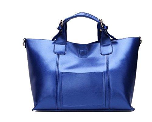 Messenger à Royalblue Bag KYOKIM Capacité Lady Imperméable Bandoulière Sac Vintage Sac Main à Grande Casual zzZ7Fqw