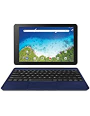 """Newest Premium High Performance RCA Viking Pro 10.1"""" 2-in-1 Touchscreen Laptop Computer Tablet Quad-Core Processor 1G Memory 32GB Hard Drive Detachable-Keyboard Android 8.1 (10 Inch, Blue)"""