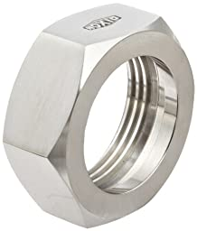 Dixon 13H-G150 Stainless Steel 304 Sanitary Fitting, Bevel Seat Hex Union Nut, 1-1/2\