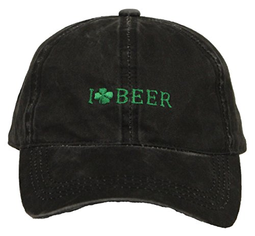 Funky Junque H-213-BEER-06 I Love Beer - Black