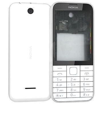 best website b45cf bffef Dual Sim Replacement Body Panel for Nokia 225 (White)
