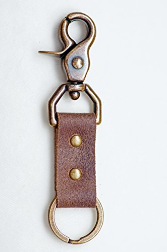 Genuine Leather Hardware Attaches Distressed