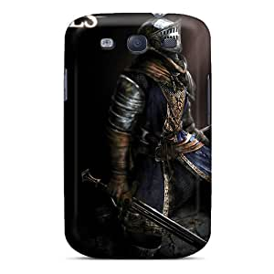 PDR310estz Faddish Dark Souls Elite Knight Armor Case Cover For Galaxy S3