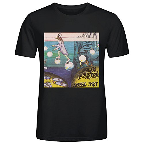 Ozric Tentacles Jurassic Shift T Shirt Mens Black - Martini Jug