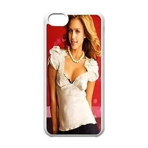 iPhone 5c Cell Phone Case White Jessica Alba 2 Gdpzq