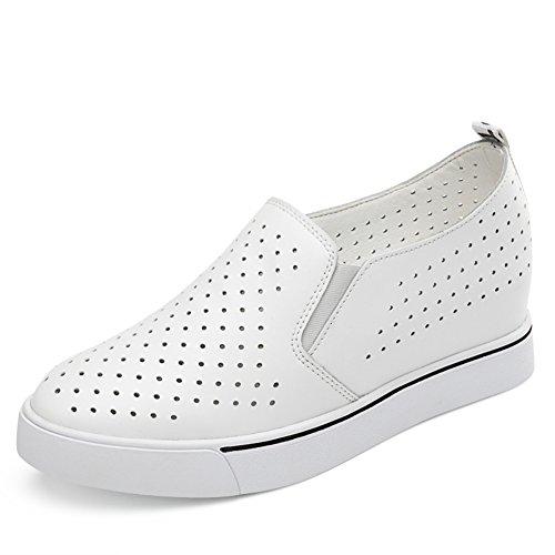 ???????,Mujer Suela Gruesa Zapatos Ocasionales,Interno-aumento De Zapatos De Las Mujeres,Coreano Suela Plana Finos Zapatos Estilo A