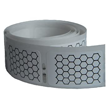 Qty 50 Honeycomb Deterrent Stickers prevent eliminate Yellow Jacket Bee Hornet Wasp Nest without chemicals