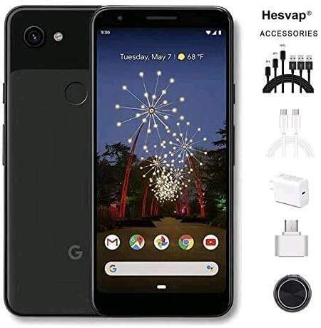 🥇 Newest Google Pixel 3a 5.6″ 64GB Memory Cell Phone Unlocked Android Smartphone – Black
