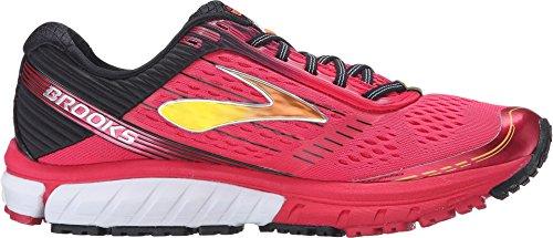 44bcdadda8d Brooks Women s Ghost 9 Azalea Black Cyber Yellow Running shoes - 8.5 ...