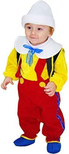 Disfraz de carnaval Pinocho 62: Amazon.es: Juguetes y juegos