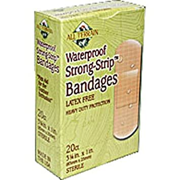 20 Bandages Pet Supplies All Terrain Strong Strip Bandages Latex Free