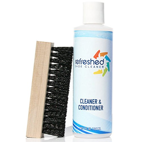 Refreshed Shoe Cleaner & Conditioner | Suede Leather Canvas Nubuck | Starter + Brush Cleaning Kit