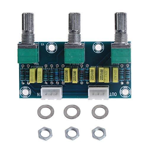 (Fasmodel - HIFI Amplifier Passive Tone Board Treble Bass Volume Control Preamp Board)