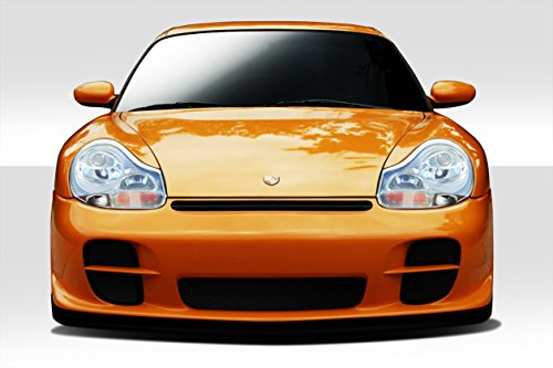 Gt2 Front Bumper - Duraflex ED-ABE-338 GT-2 Look Front Bumper Cover - 2 Piece Body Kit - Compatible For Porsche 996 1999-2001