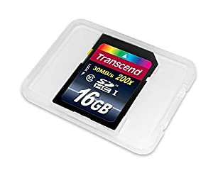 Transcend 8 GB Class 10 SDHC Flash Memory Card