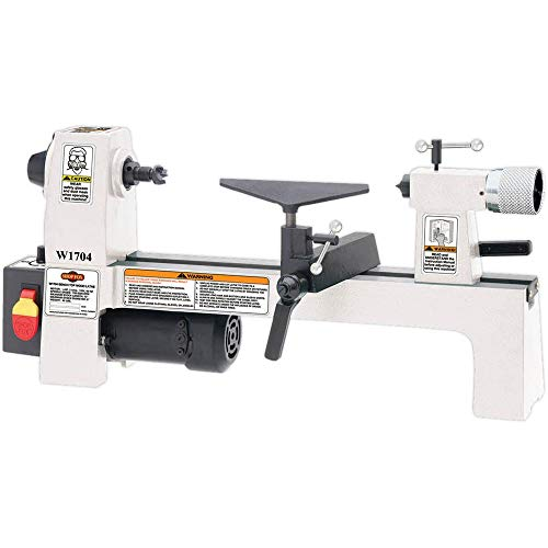 SHOP FOX W1704 1/3-Horsepower Benchtop - Lathe Gunsmith