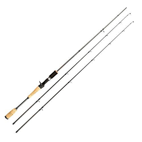 - Entsport Nostalgia 2-Piece Casting Rod Graphite Portable Casting Fishing Rod with Two Different top Pieces Inshore Casting Pole Freshwater Cast Rod (Casting Rod with 2 Top Pieces, 7-Feet)