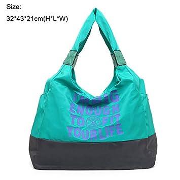 Waterproof Shoulder Bag Outdoor Handbag Gym Bag Yoga Sports ...