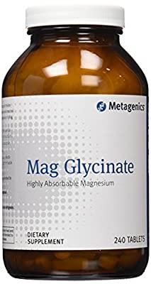 Metagenics Mag Glycinate Tablets, 240 Count
