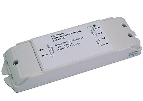 LED Dimmer Phasenanschnitt und Phasenabschnitt zu PWM 12V-24V DC 15A dimmen 230V