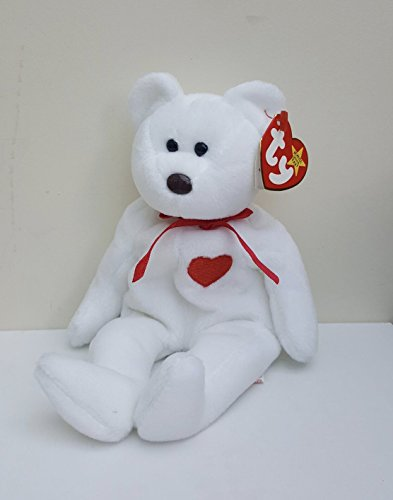 Ty Beanie Babies Valentino The Teddy Bear