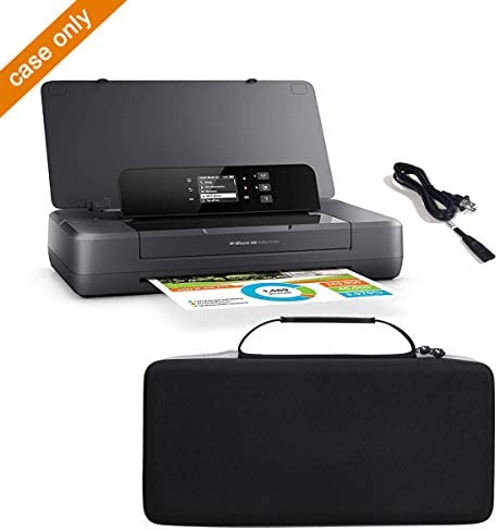 Aproca Hard Travel Storage Case Fit HP OfficeJet 250 All-in-One Portable Printer Wireless Mobile Printing CZ992A (Black) 41I DvTBs7L