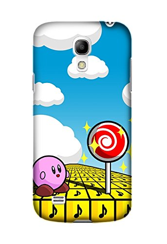 Cover For Samsung Galaxy S4 Case, Design Game Kirby Pattern Durable Fashion Hard Case Ultra Slim Fit For Samsung Galaxy S4 Design By [Claudio Nieves] (Galaxy S4 Case Kirby compare prices)