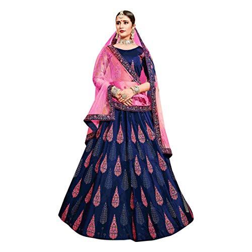 Diseñador Saree Recepción Shri Bordado Indio Pesado Silk De amp; Cotton Trabajo Balaji Emporium Cóctel Novia Vestido 7521 Lehenga nqqIYW8