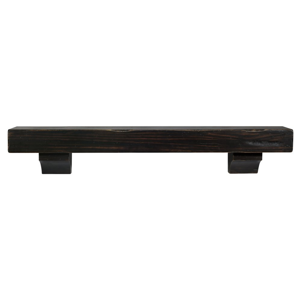 Shenandoah Fireplace Mantel Shelf Finish: Espresso Distressed, Shelf Length: 60