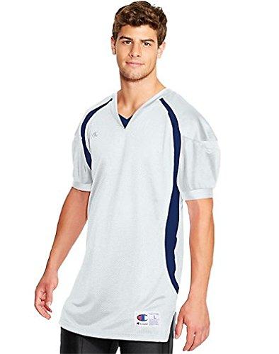 Challenger Colorblock Voetbalgame Jersey Wit / Atletische Marine