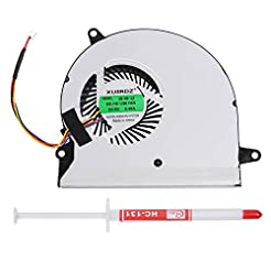 Li-SUN Laptop CPU Cooling Fan for Clevo ...