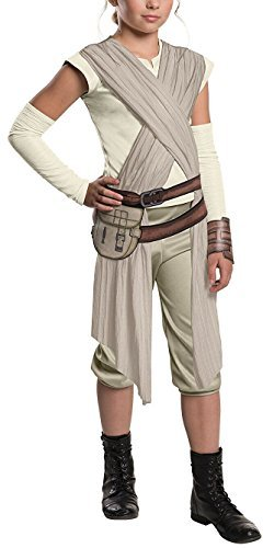 Rubber Ducky Boy Child Costumes (Berser Star Wars: The Force Awakens Child's Rey Costume Cool Halloween Girls Boys (Medium))