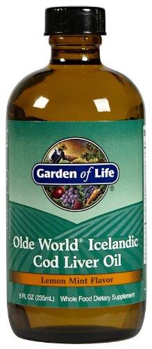 Garden of Life - Olde World Icelandic Cod Liver Oil  Lemon mint flavour, 8 fl oz liquid (Rosita Cod Liver Oil compare prices)