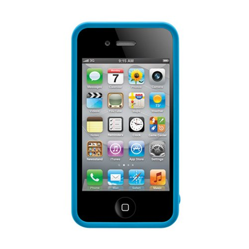 SwitchEasy Avant-garde Plank Schutzhülle Blau für Apple iPhone 4/4S