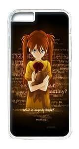 IPhone 6 Plus Case, IPhone 6 Plus Cases Hard Case Girl Toy Loneliness Case For IPhone 6 Plus, IPhone 6 Plus PC Transparent Case