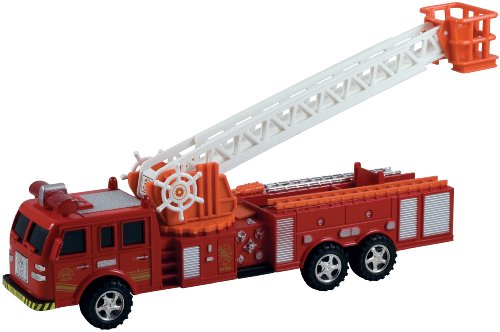 WowToyz Friction Powered Fire Engine - Friction Fire Engine