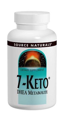 - Source Naturals 7-Keto 50mg DHEA Metabolite - 30 Tablets