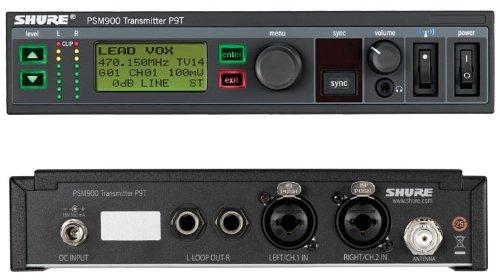 - Shure P9T PSM900 Transmitter K1