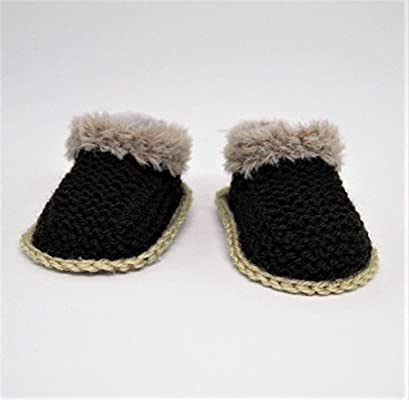 fcaffb544b5 Baby Boy Booties, Baby Uggs Style, Baby Shoes, Fur Booties, Baby ...