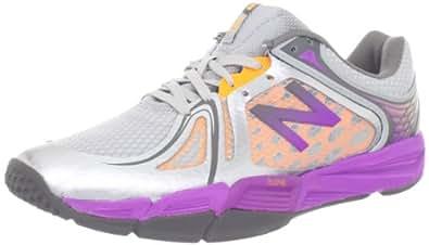 New Balance Women's WX997v2 Cross-Training Shoe,Silver/Purple,6 B US