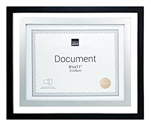 Kiera Grace City Float Document Frame 11 Inch By 14 Inch