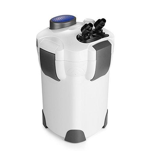 Canister Filter Tank (Flexzion SunSun HW-303B 4-Stage External Canister Aquarium Filter w/UV sterilizer 365GPH)