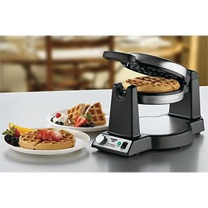 Waring Pro Stainless Steel single  Belgian Waffle Maker WWM450PC (Waring Professional Waffle Iron compare prices)
