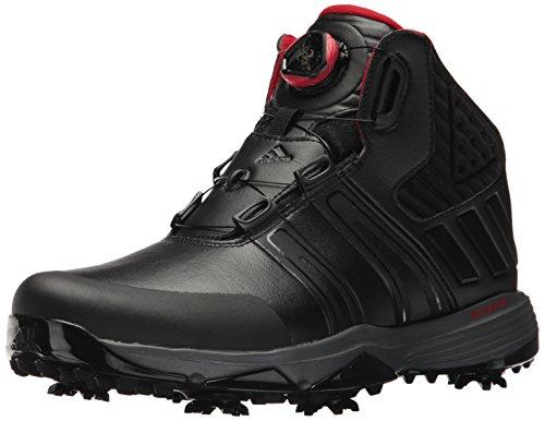 adidas Men's Climaproof BOA Golf Shoe, Black, 13 M US