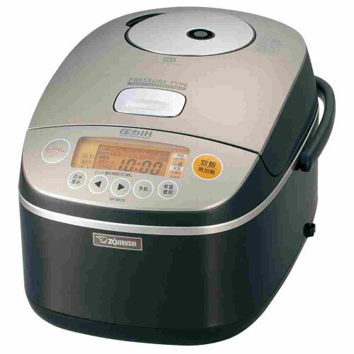 [IH pressure rice cooker cook 1] ? ZOJIRUSHI Metallic Brown NP-BA18-TC