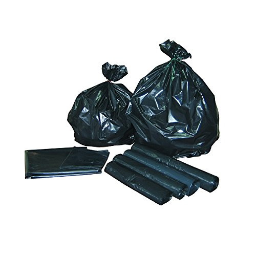 Sac poubelle noir 130L rouleau de 25 sacs Global Hygiene