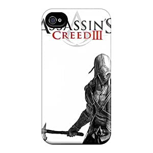 Perfect Hard Cell-phone Cases For Iphone 6plus With Provide Private Custom Lifelike Assassins Creed 3 Pattern ChristopherWalsh