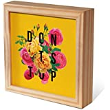 Quadro Decorativo 19x19 Moldura Box Pinus 160810230, Design Up, Colorido