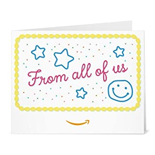 Amazon Gift Card - Print - From all of us (B01N1ROIZ7) | Amazon price tracker / tracking, Amazon price history charts, Amazon price watches, Amazon price drop alerts