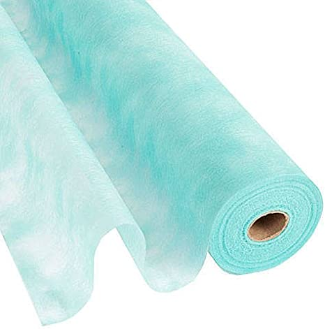 "Light Blue Flame Retardant Gossamer Roll 19/""x100yd"